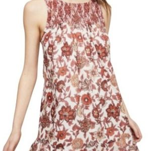 Free People Oh Baby Floral Boho Dress L